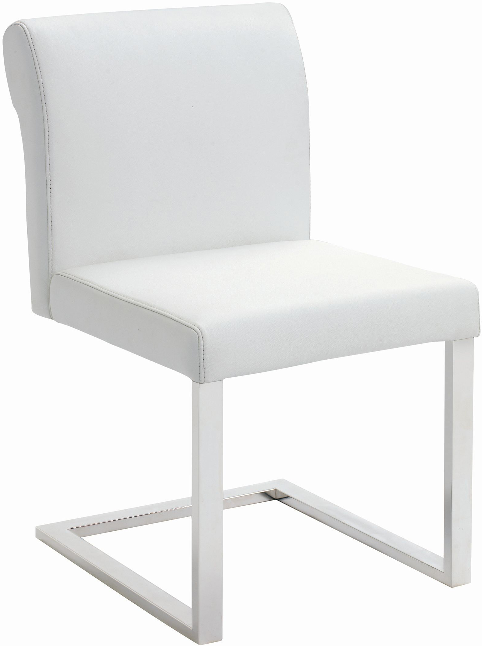 nuevo bruno dining chair white