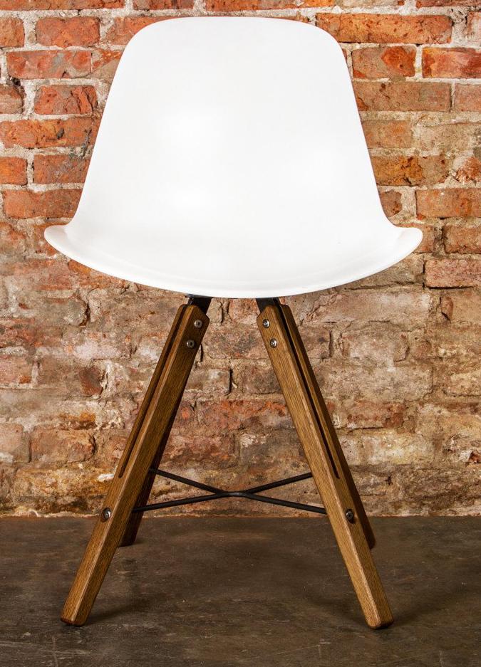 nuevo hgda354 white theo shell chair