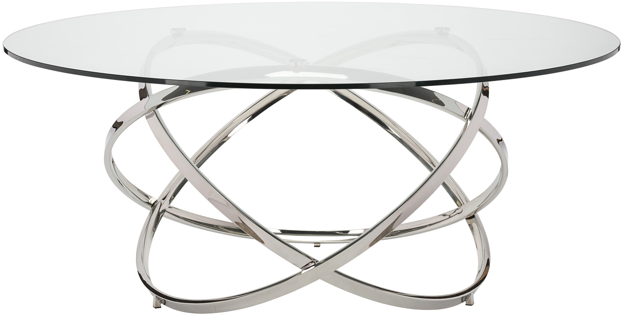 Nuevo infinity dining table polished stainless steel price geotapseo Image collections