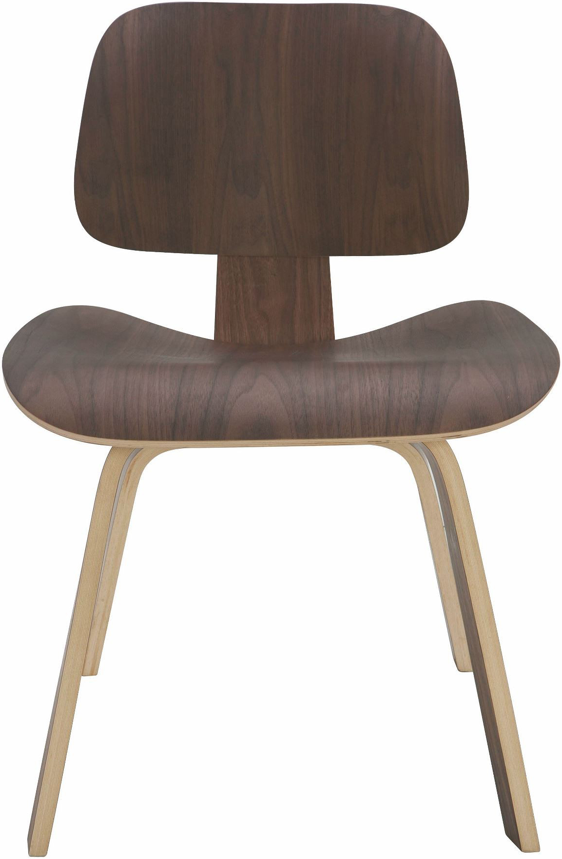the nuevo living sophie dining chair in a walnut finish