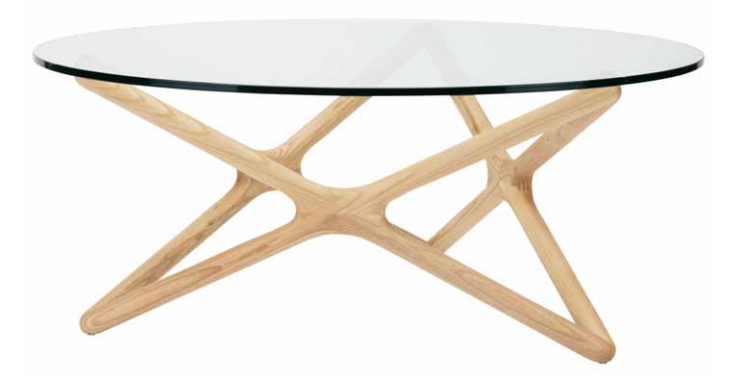 Beautiful The Nuevo Living Star Coffee Table Is Available In Ash And American Walnut  Finish ...