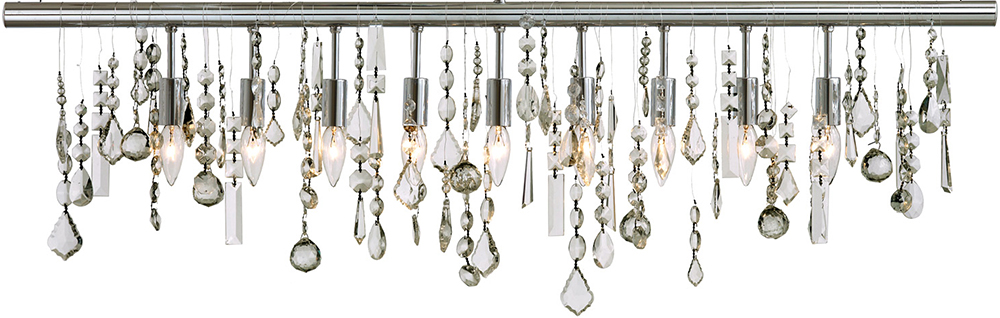 sc 1 st  Advanced Interior Designs & Nuevo Hgml158 Crystal Linear Pendant Lamp