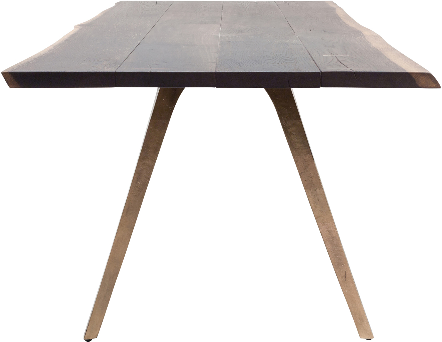 the nuevo vega dining table in bronze