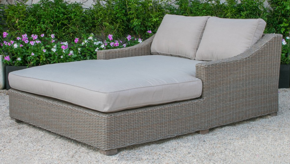 check out the brand new Key West Wicker Patio Sun Bed available at advancedinteriordesigns.com