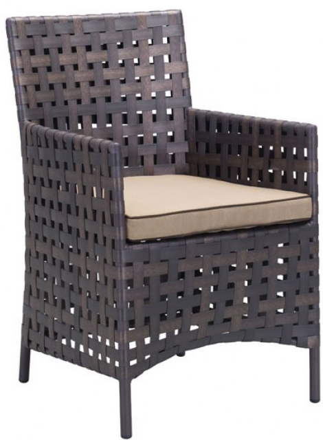 zuo modern pinery dining chair