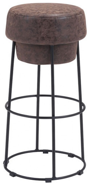 new natural and distressed bar stool