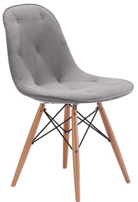 new probability dining chair gray by zuo available at AdvancedInteriorDesigns.com