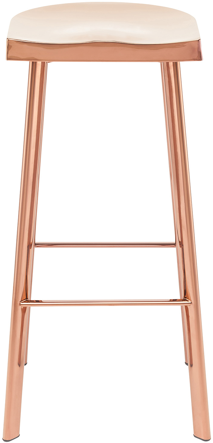 rose gold bar stool by Nuevo Living - Icon Bar Stool