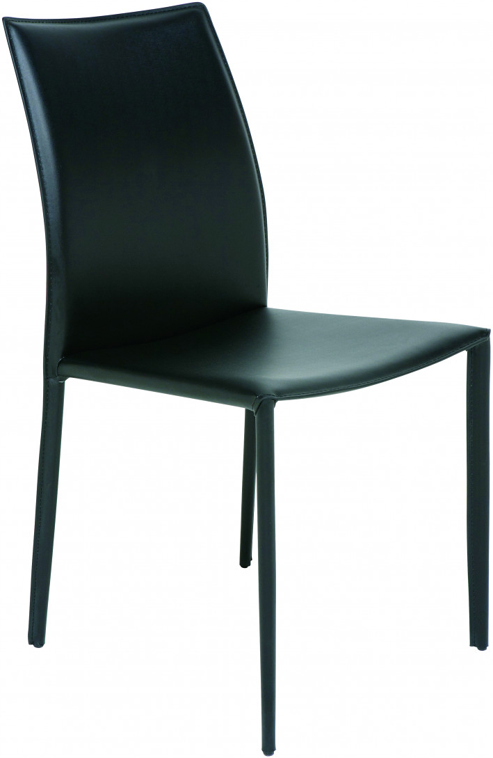 the nuevo sienna dining chair in black