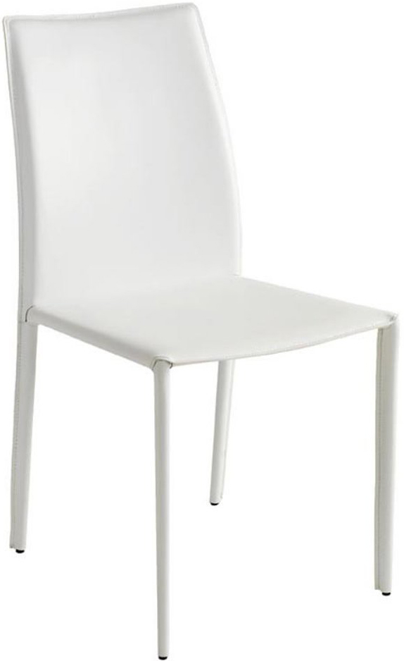 the nuevo sienna dining chair in white