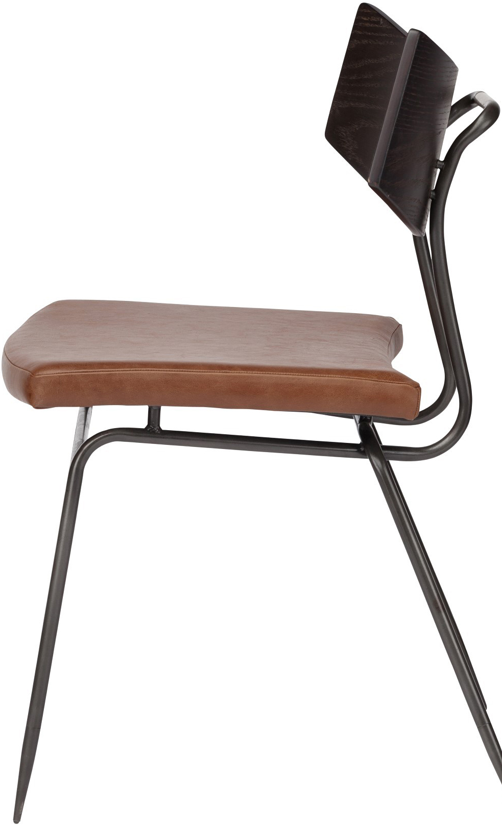 the nuevo soli dining chair caramel