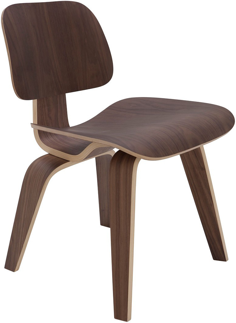 the sophie dining chair in walnut
