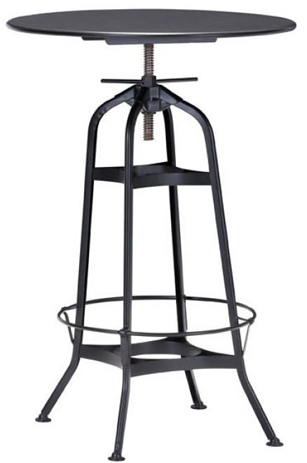 industrial black bar table available at AdvancedInteriorDesigns.com