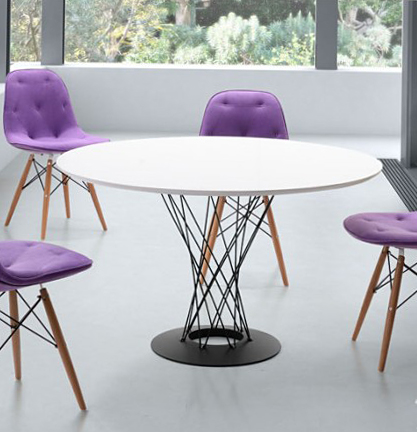 zuo spiral dining table 110040
