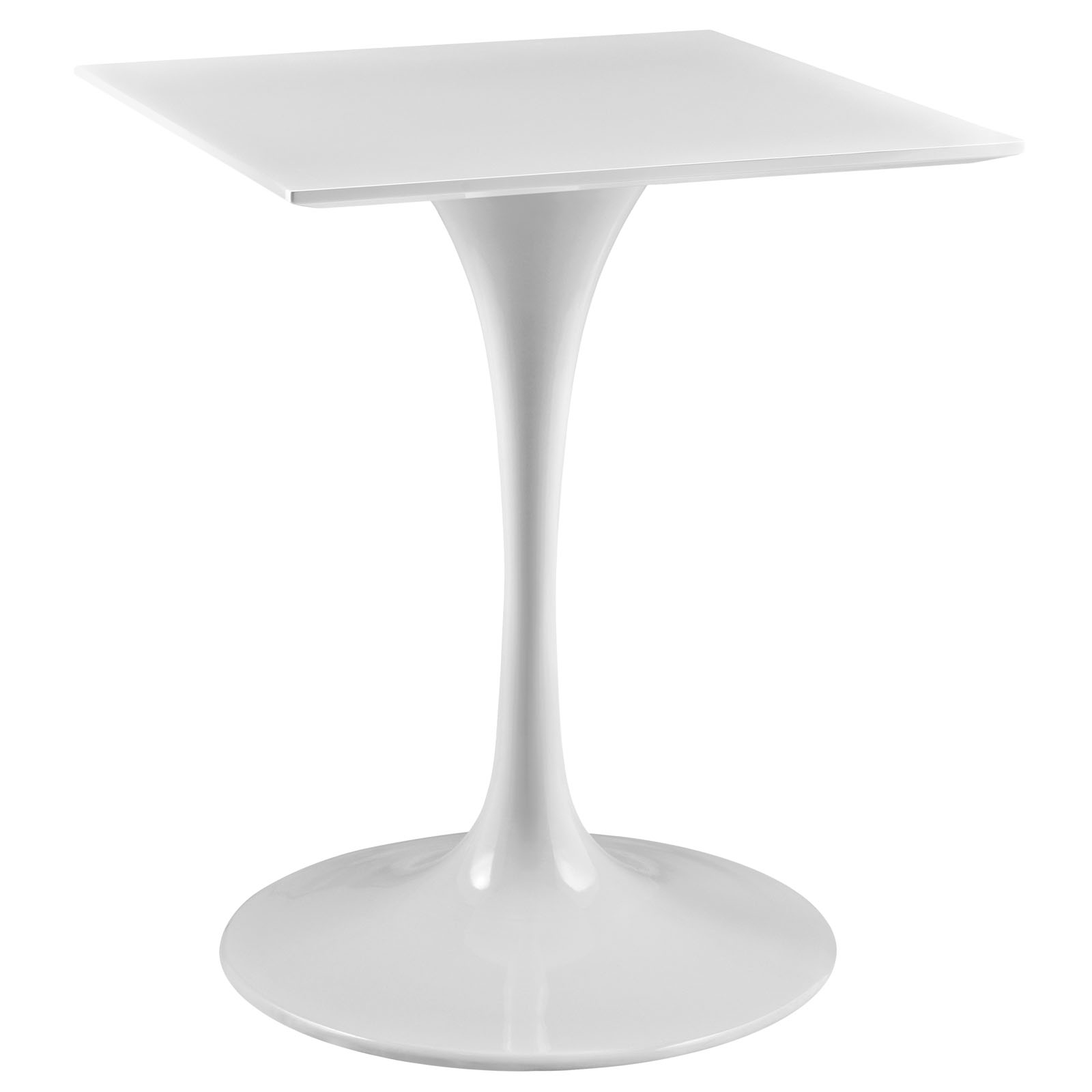 Tulip Table Square Top Pedestal Table Home and fice Furniture