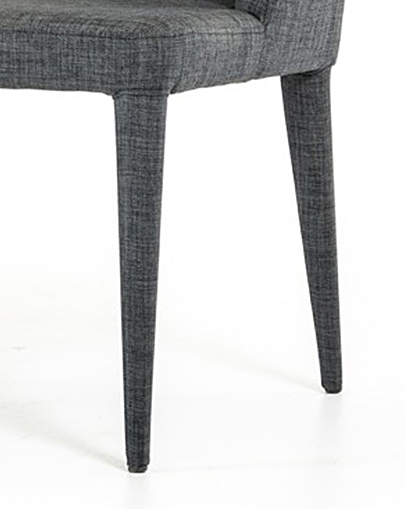 low priced upholstered gray bench available at AdvancedInteriorDesigns.com