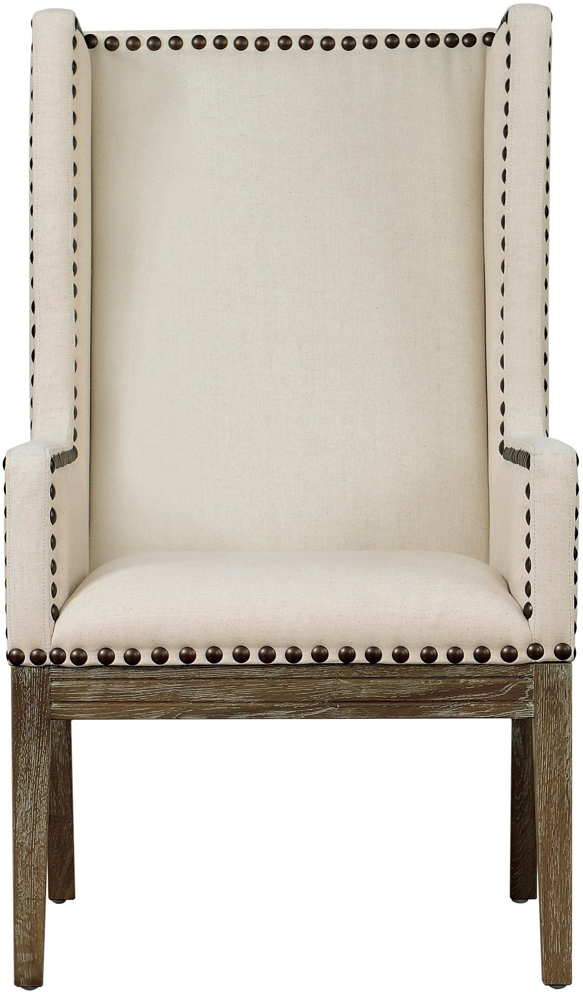 the velvet orianna arm chair in beige