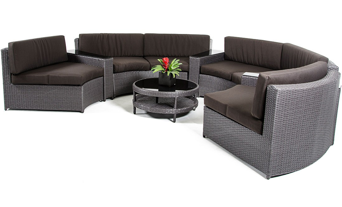 Low Priced Wicker Patio Sectional Set ...