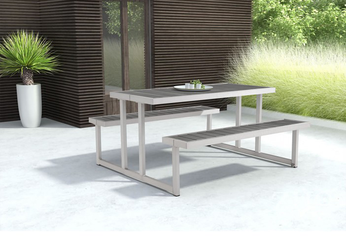 cuomo picnic table by zuo available at Advanced Interior Designs