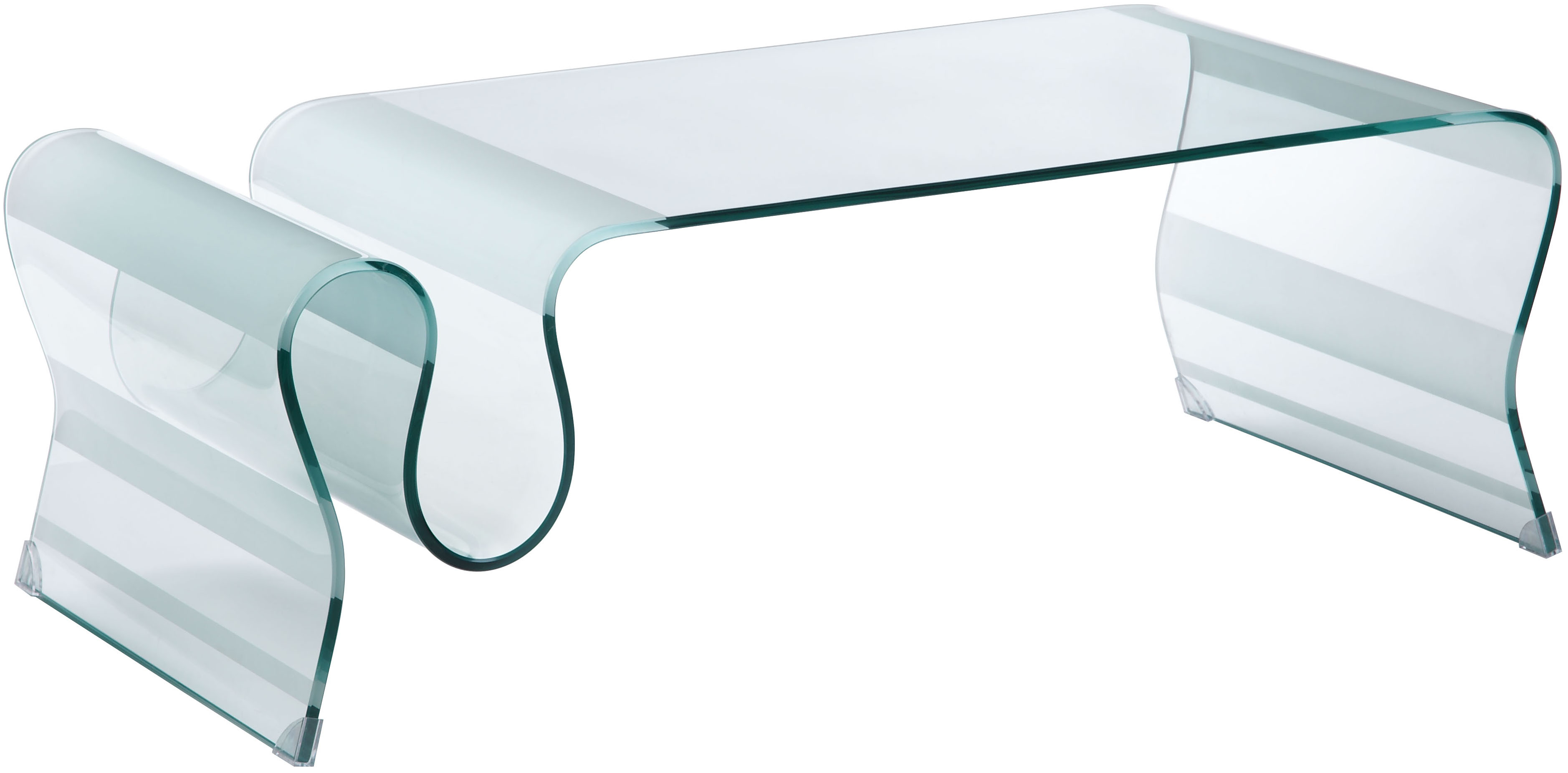 The Modern Glass Discovery Coffee Table By Zuo Modern