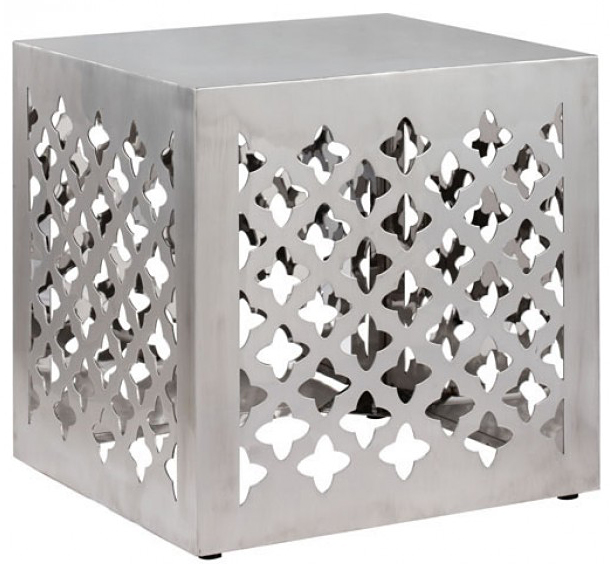 new stainless steel Moroccan inspired design