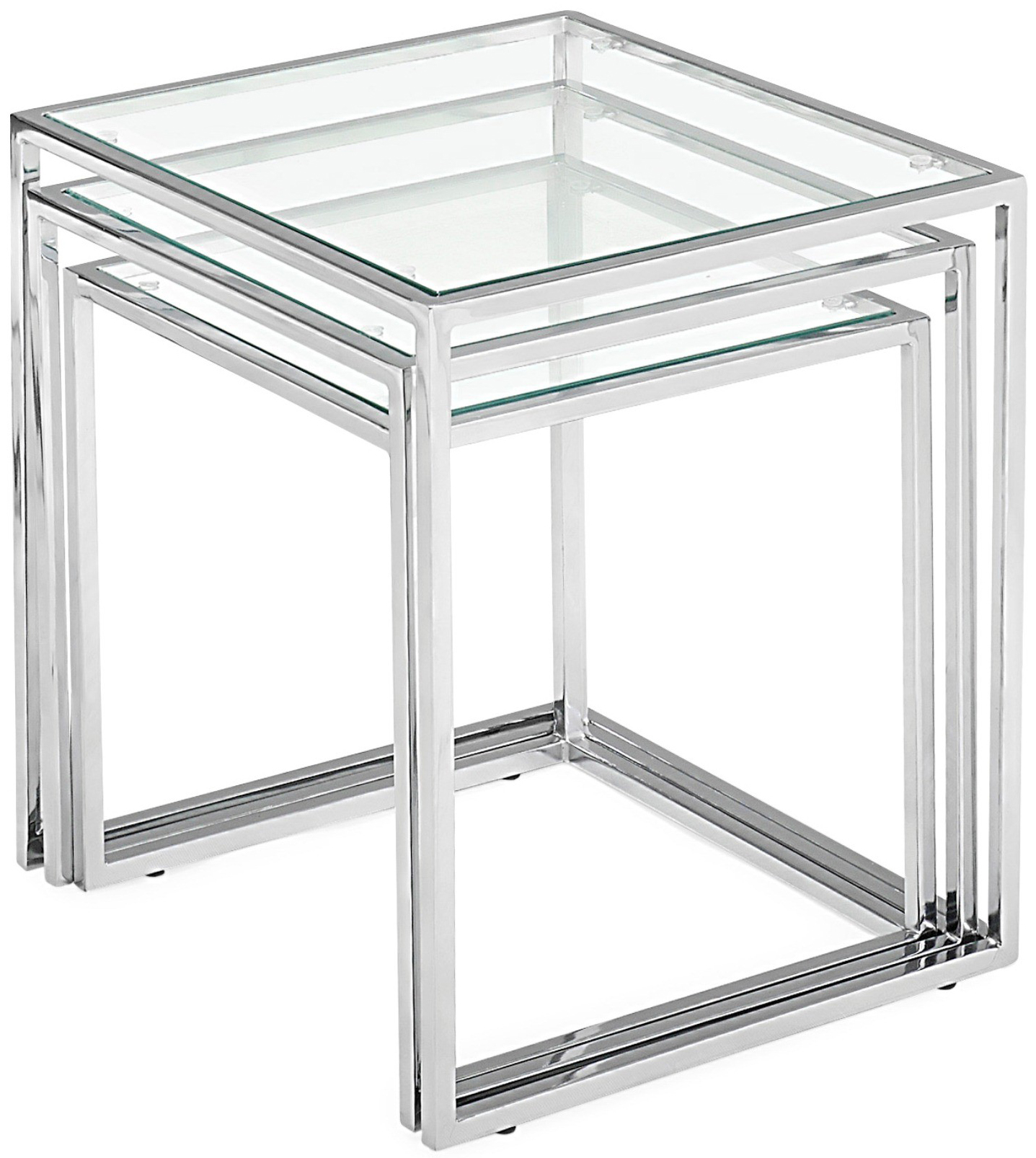 Contemporary Nesting Tables ~ Pasos nesting tables zuo modern