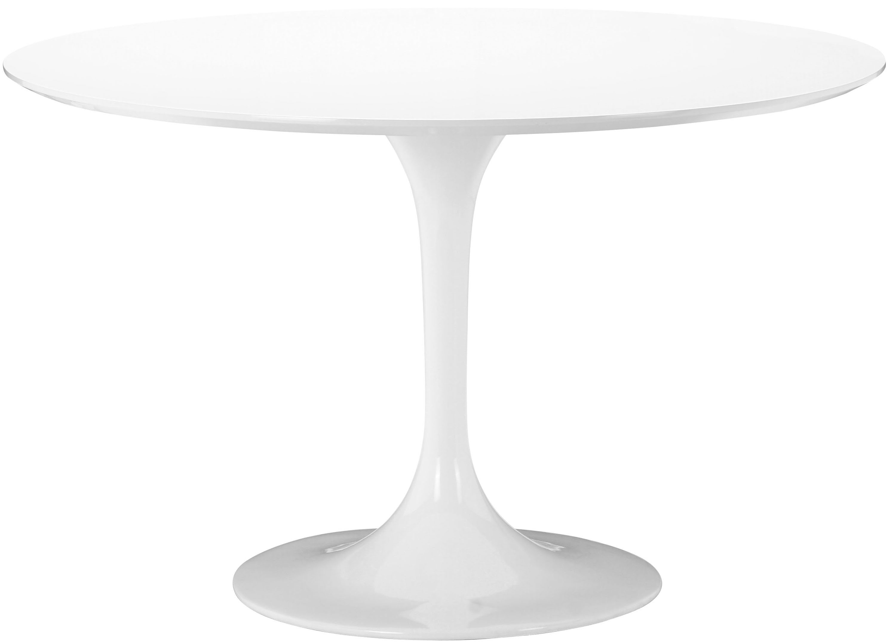 A mid century classic design piece by Zuo Modern The Wilco Table White