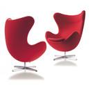 Arne Jacobsen Egg Chair-Red