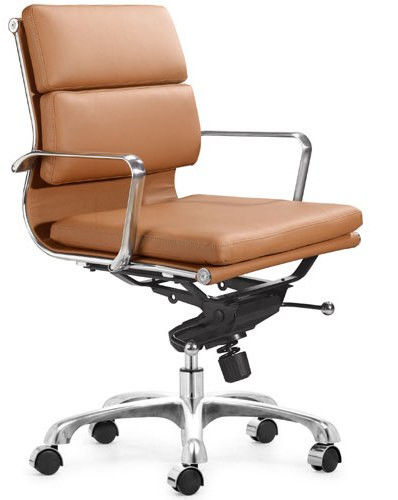 Executive Soft Pad Office Chair Terracotta