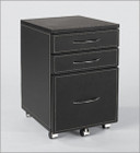 Laurence Leather File Cabinet
