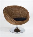 Oliana Rattan Swivel Chair