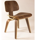 Molded Plywood Dining Chair-Walnut