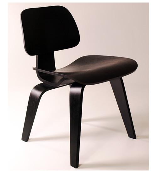 ... Molded Plywood Dining Chair-Ebony. Image 1
