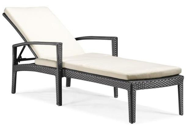 Phuket outdoor chaise lounge by zuo modern for Outdoor furniture phuket