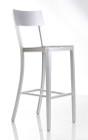 Cafe Aluminum Barstool