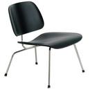 Molded Plywood Lounge Chair W/Metal Legs - Ebony