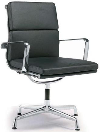 director office chair with no wheels black