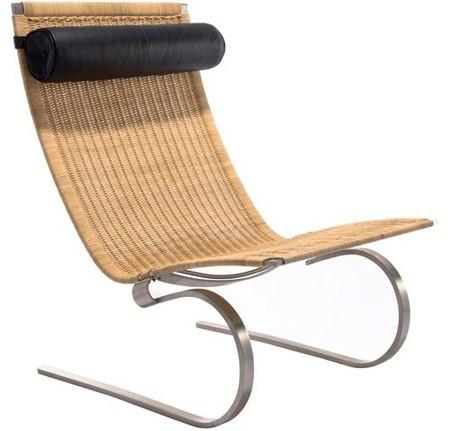 ... Poul Kjaerholm PK20 Chair   Natural Rattan. Image 1