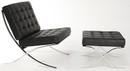 Exposition Chair & Ottoman-Full Aniline