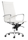 AG Management High Back Chair - White