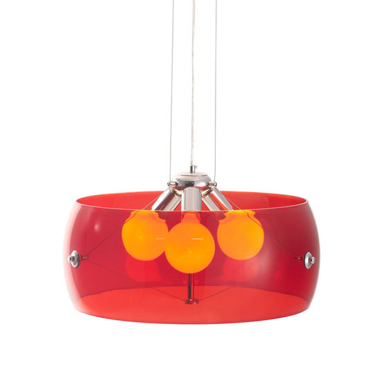 Zuo Asteroids Ceiling Lamp Red