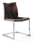 Cowhide Lunar Chair