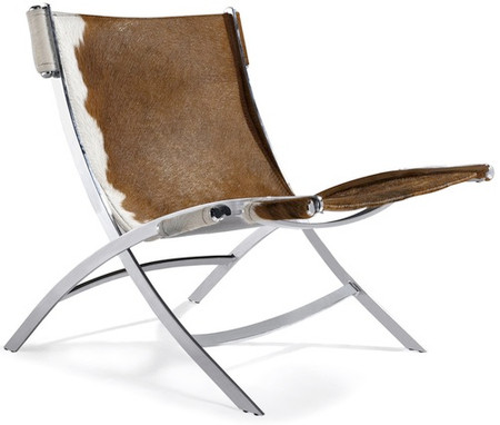 Cowhide PK22 Style Easy Chair