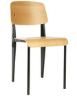 Prouve Style Standard Chair Black Frame