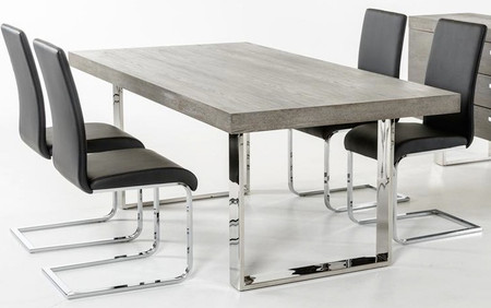 Home Dining Tables Herald Gray Dining Table