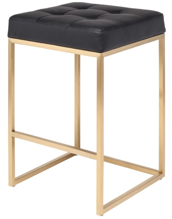 Nuevo Gold Chi Counter Stool Www Advancedinteriordesigns Com