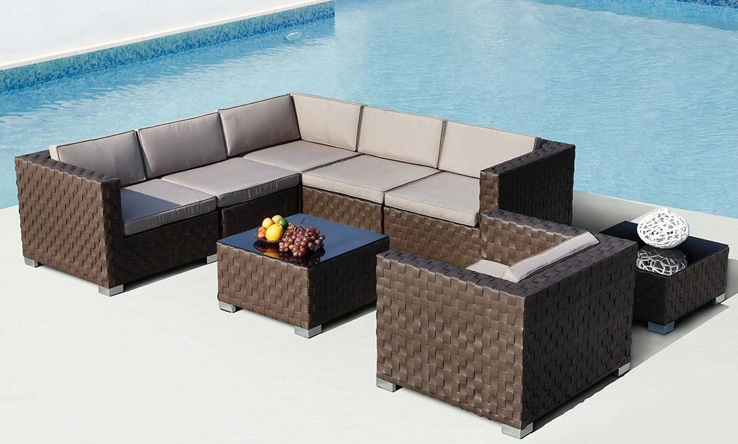 outdoor sectional sofa building plans rushreed set see picture 3 piece