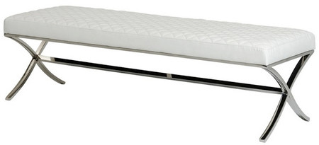 Franklin Bench white