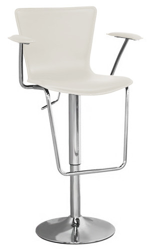 Jaques Adjustable Height Swivel Bar Stool Home And