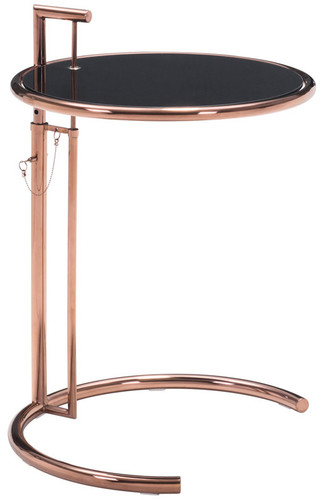 ... Eileen Gray Table Rose Gold. Image 1